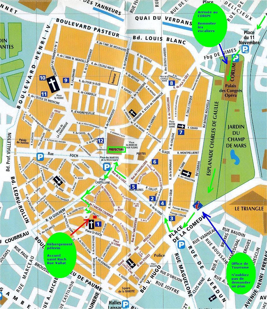Via tolosana etape vendargues montpellier for Boulodrome montpellier